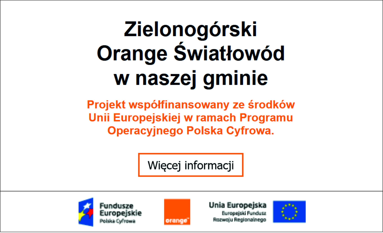 Ilustracja do informacji: Orange Światłowód w naszej Gminie