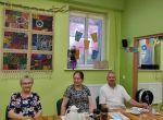 Miniatura zdjęcia: Wizyta księdza Andrzeja z okazji Światowego Dnia Dziadków i Osób Starszych